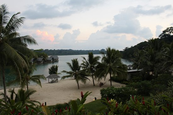 Holiday Inn Resort Vanuatu : View from dining room
