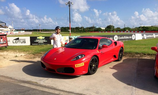 Exotic Rides Mexico: Hot lap f430