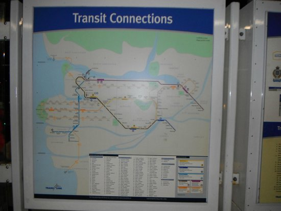 SkyTrain: Map on Travel routes
