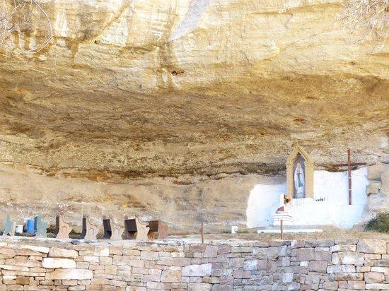 The Shrine in Seboyeta, New Mexico