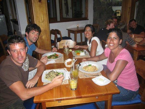 Il Giardino : Muy buena cena