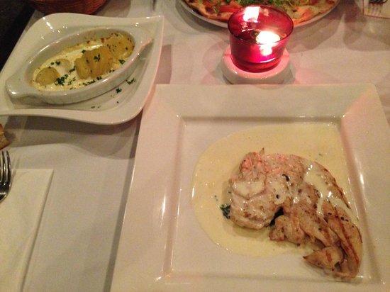 L'Osteria: Scalopine al limone
