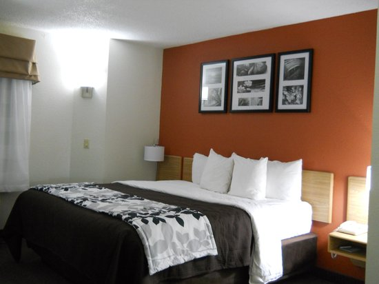 Sleep Inn DFW Airport: I thoroughly enjoyed staying in this room
