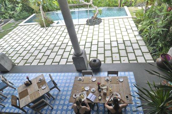 Luwak Ubud Villas: Luwak Cafe