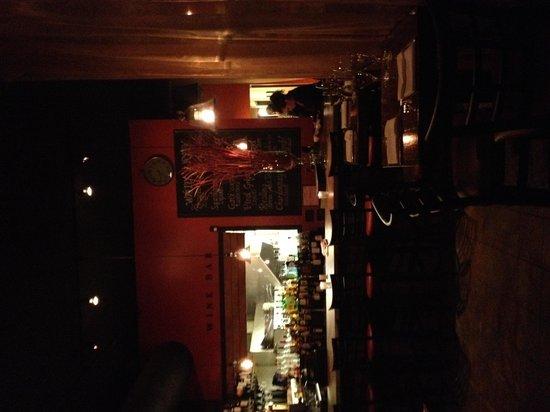The bar at Tello Italian Bistro