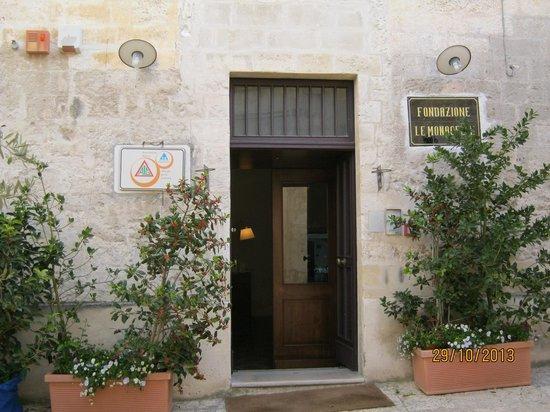 Le Monacelle : 入口です。