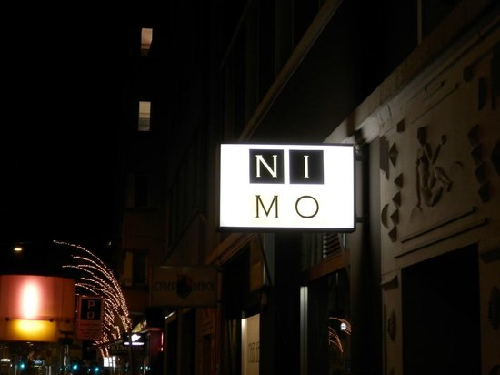 Hotel NI-MO: Just look for the sign and you won't be disappointed