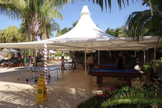 The Westin Golf Resort & Spa, Playa Conchal: Pool Tables and Ping Pong near second pool near beach