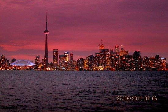 Parc des Îles de Toronto : the stunning Toronto skyline