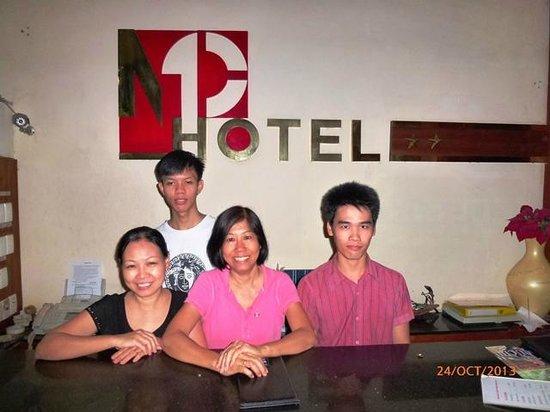 Minh Chau Hotel: Manager & Staff