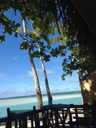 Aitutaki Lagoon Resort & Spa: Magic view