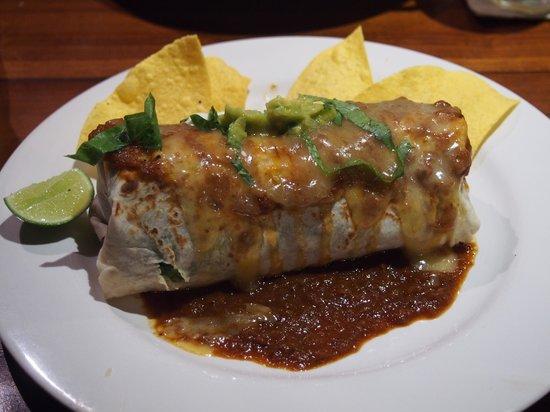 Taco Casa : Veggie wet burrito, very tasty!