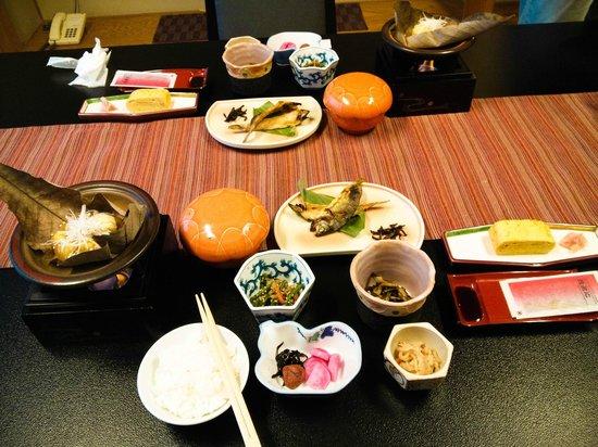 Wafu no Yado MASUYA: А это завтрак!
