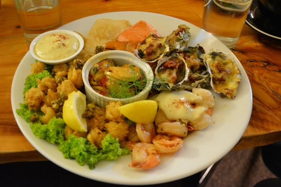 Tito's Bistro & Bar: The seafood platter