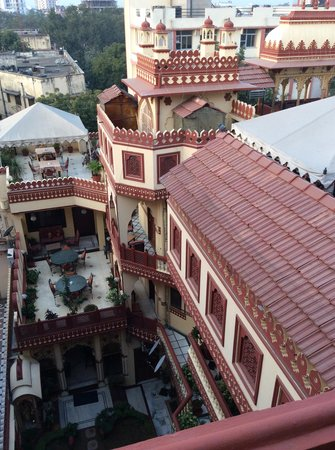 Umaid Bhawan Heritage House Hotel: View from our room