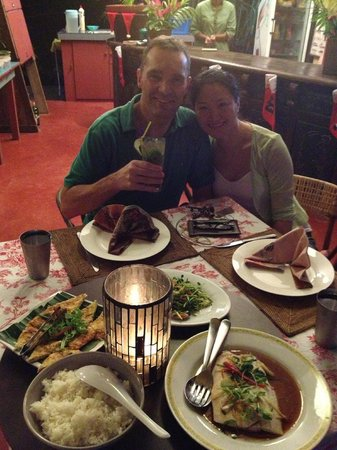 Tiger Rock : Dinner