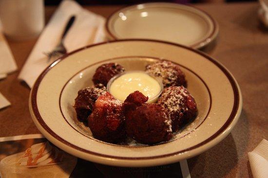 Denny's: Red velvet cake balls