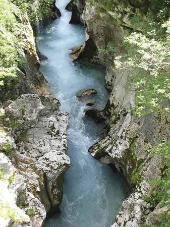 Soca Valley: beautiful Soca river