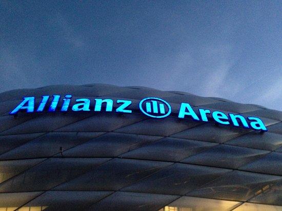 Allianz Arena: Blue
