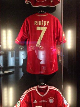 Allianz Arena: Ribery