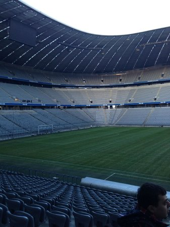 Allianz Arena: First look