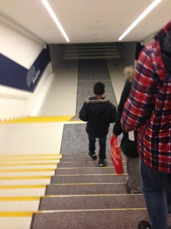 Allianz Arena: Walk down