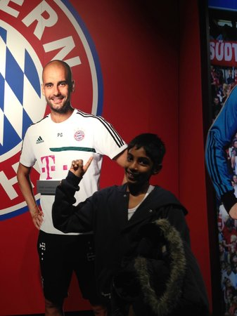 Allianz Arena: Pep Guardiola my Hero!