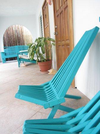 Seven Seas Resort: Porch