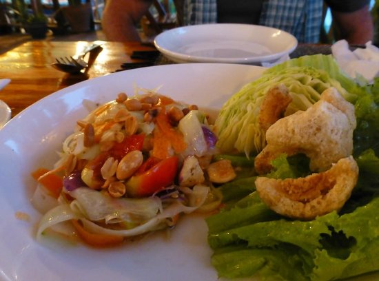 Rosella Fusion Restaurant: Papaya salad