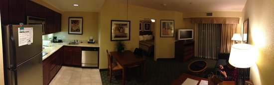 Homewood Suites by Hilton San Diego Airport - Liberty Station: King Bedroom Suite Panoramic view