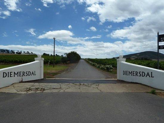 Diemersdal Farm Eatery: Entrance