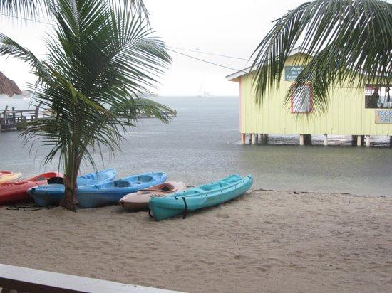 Paradise Vacation Hotel: kayaks