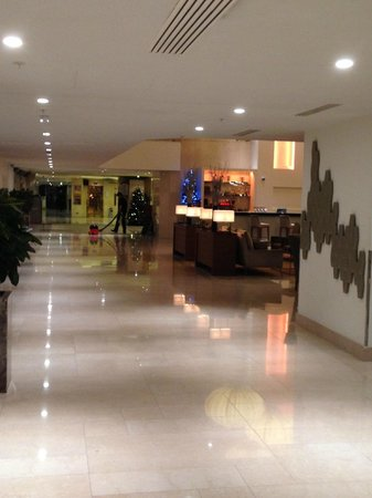 Hilton London Metropole: lobby