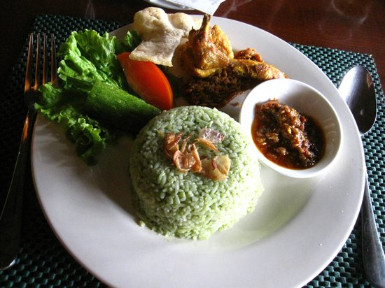 Root & Branch: nasi hijau
