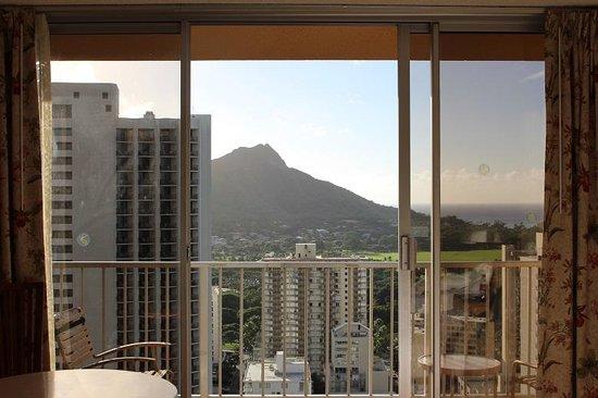 Pacific Beach Hotel : 30F部屋(305X)からの景観