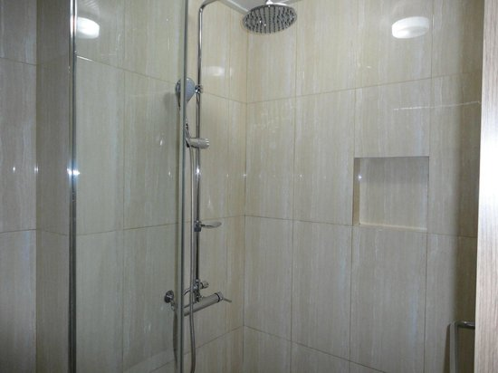Le Monet Hotel : shower stall