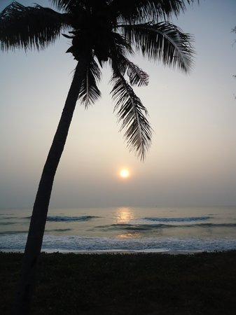 NishaVille Resort : The Sunrise from our room