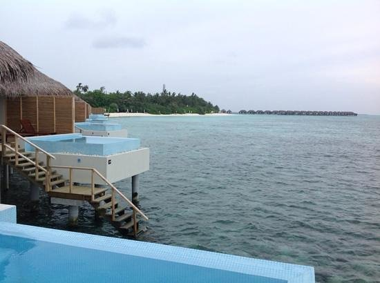 Velassaru Maldives: view from our room