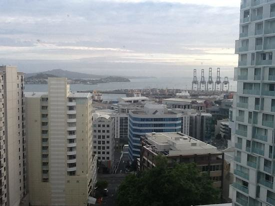 Pullman Auckland : View from window of room 1108