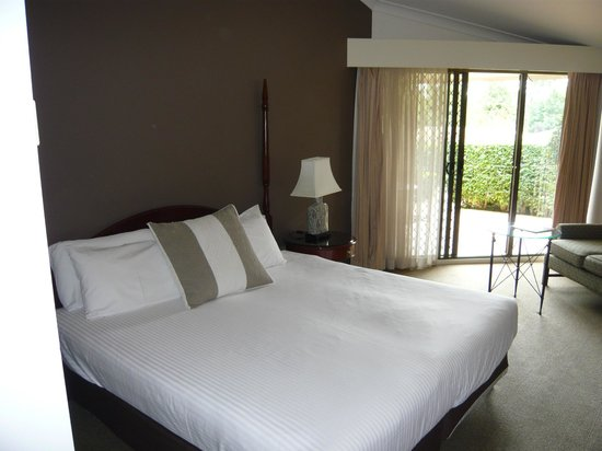 Mercure Resort Hunter Valley Gardens: Comfortable bed