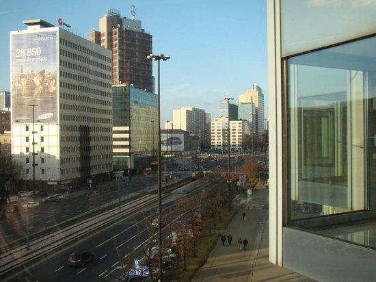 Mercure Warszawa Centrum: Вид из окна