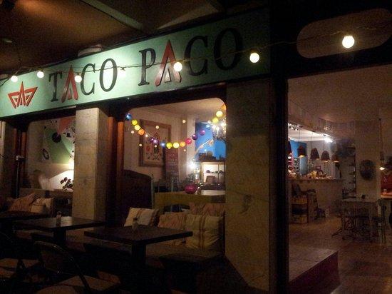 Taco Paco : Lovely setup