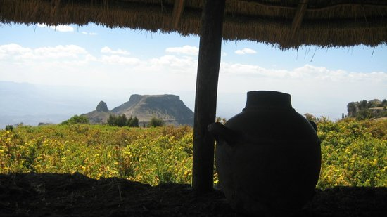 Lalibela Hudad: The view from the Loo!