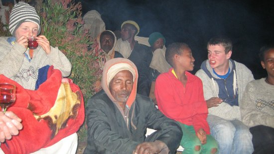 Lalibela Hudad: Our lovely campfires and friendships