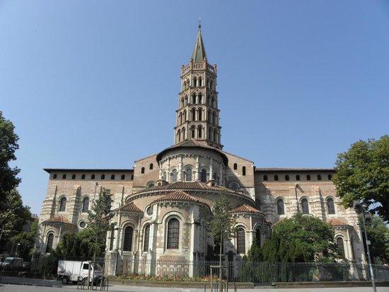 Basilique Saint-Sernin: うら