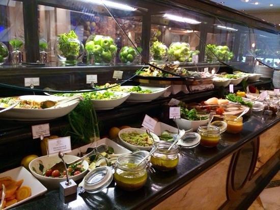 Il Barocco: salad bar