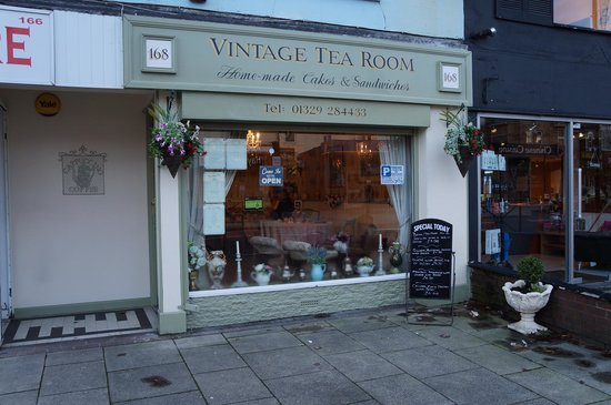 Vintage Tea Room: Outside Vintage TeaRoom
