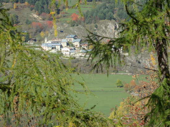 Hotel Regina delle Alpi: scorcio di Pietraporzio