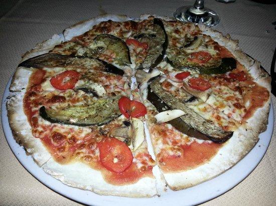 La Fontana Di Trevi : Pizza sin gluten