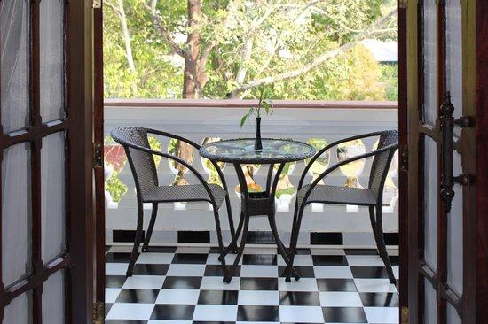 Chateau d'Angkor La Residence: Guest Room - Balcony